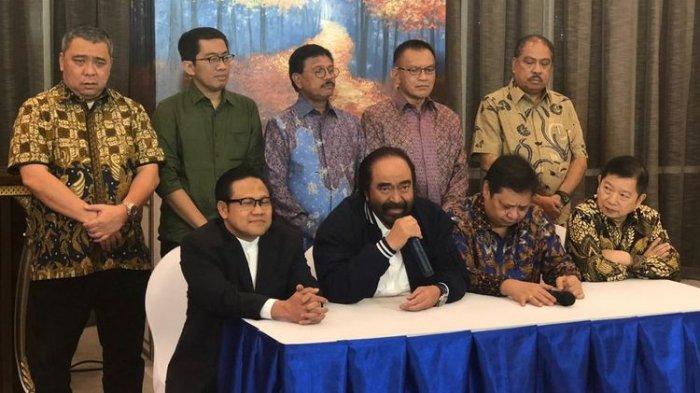 Isu Partai Oposisi Bergabung, 4 Ketum Parpol Koalisi Jokowi Bikin Manuver, 'Koalisi dalam Koalisi'?