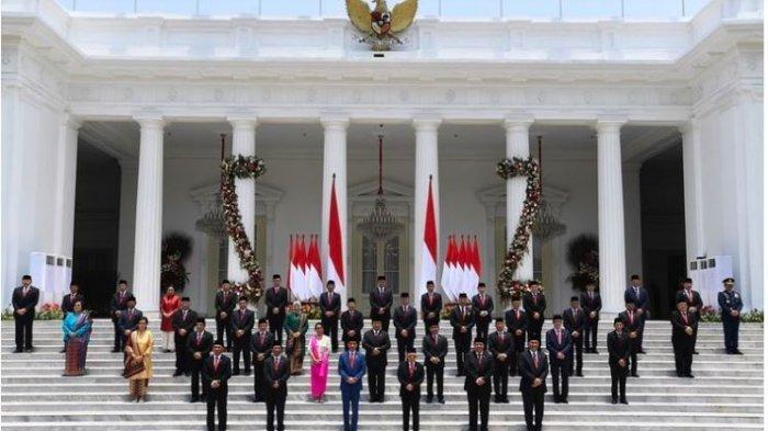 Daftar Nama Menteri, Wakil Menteri dan Pejabat Setingkat Menteri Kabinet Indonesia Maju