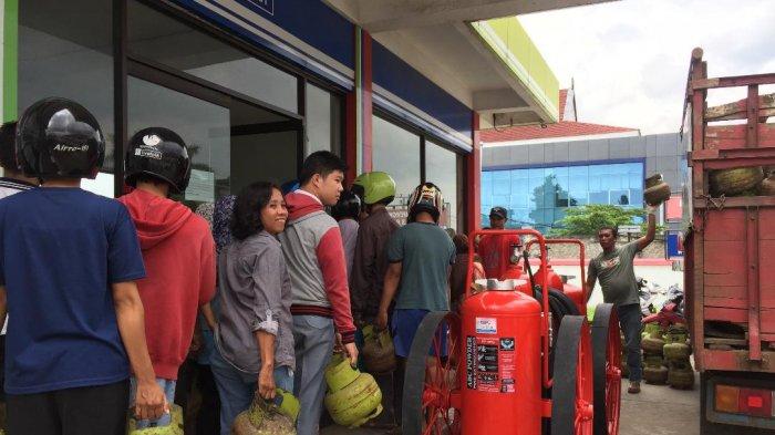 Gas 3 Kg Langka di Jambi - Dari Antre sampai Harga Tinggi di Agen
