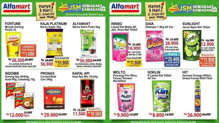 Promo Alfamart Hari Ini 24 April 2021 Promo JSM Alfamart Semarak Ramadhan Harga Super Hemat