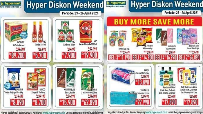Promo Hypermart Hari Ini 24 April 2021 Diskon Sirup Detergen Minyak Goreng Beras Aneka Biskuit DLL