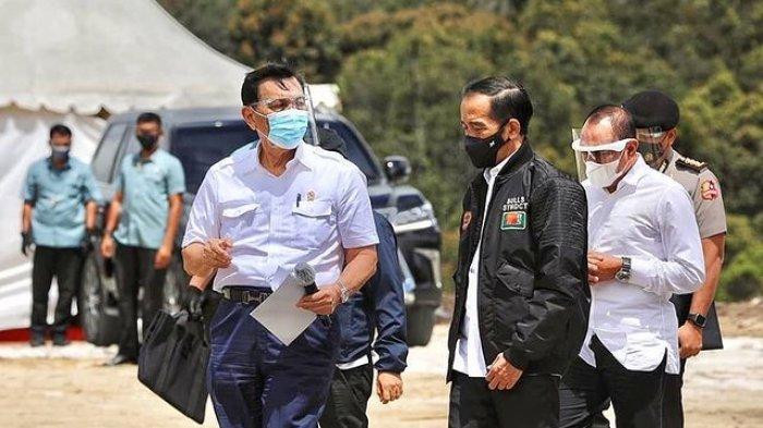 Luhut Binsar Pandjaitan dan Jokowi