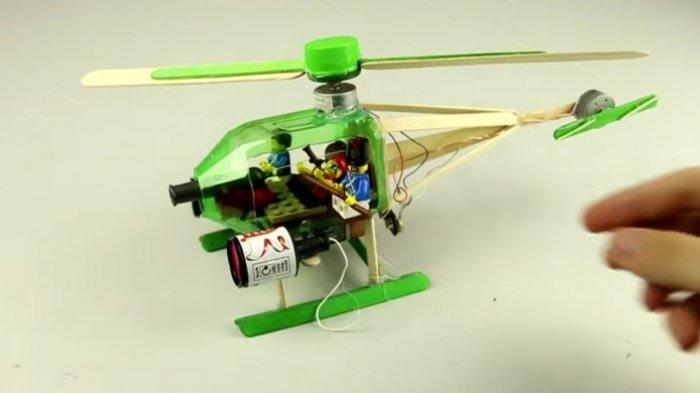 Membuat Helikopter dari Barang Bekas Mudah Kok, Simak Caranya di Sini - Tribun Jambi