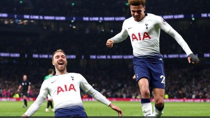 Hasil Liga Inggris - Tottenham vs Brighton 1-0, Christian Eriksen Antar Tottenham Raih Kemenangan