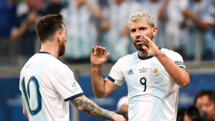 Hasil Copa Amerika - Argentina Unggul 2-0 atas Qatar, Kolombia 1-0 Paraguay, Video Cuplikan Golnya