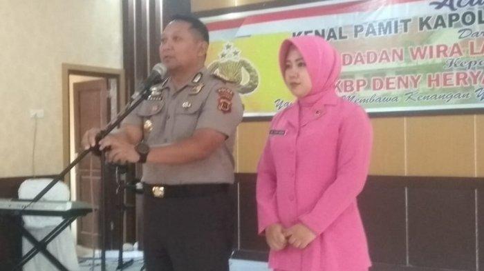 Dimutasi ke Polda Jambi, Dadan Sampaikan Kesan 2,5 Tahun Bertugas di Sarolangun