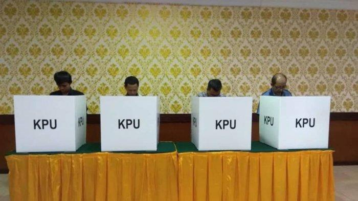 Logistik Pemilu untuk Kabupaten Merangin sudah Tiba, Setelah Dicek Ternyata Masih Kurang
