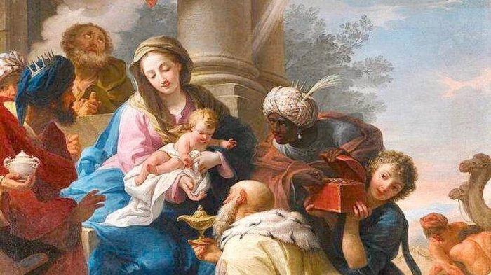 Ilustrasi kelahiran Yesus