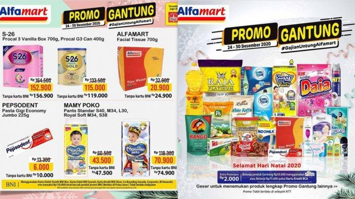 Promo Alfamart Hari Ini 24 Desember 2020, Diskon Spesial Natal 2020 Beras Snack Susu Gula