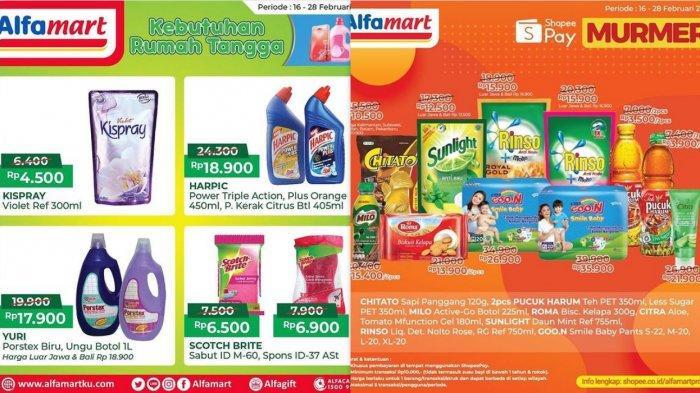 Promo Alfamart Hari Ini 25 Februari 2021, Promo Cashback 30%, Diskon Beras Minyak Goreng Mie Instan