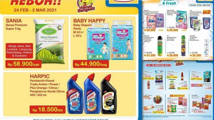 Promo Indomaret Hari Ini 28 Februari 2021, Diskon Minyak Goreng Detergen Telur Diapers Fair Beras