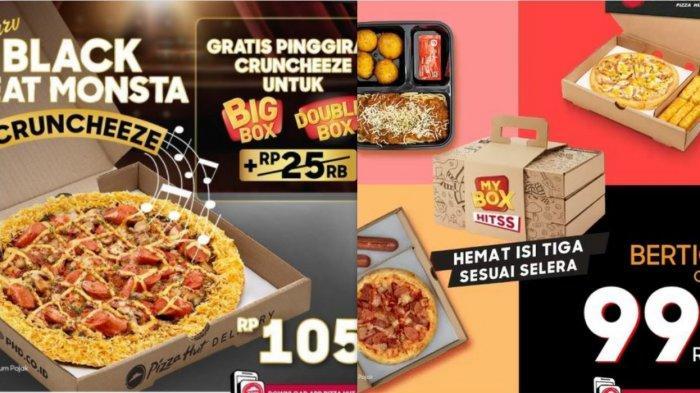 Promo Pizza Hut Delivery Hari Ini 27 Maret 2021 Double Box Cuma 88ribuan