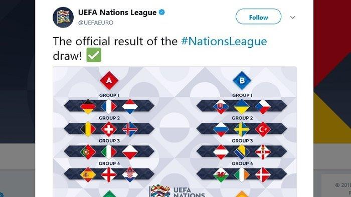 Hasil Undian Liga Eropa - Grup Neraka untuk Dua Mantan Juara Piala Dunia