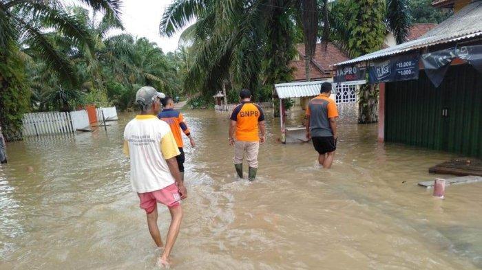 Sungai Batanghari Meluap, Empat Kecamatan di Tebo Terdampak Banjir