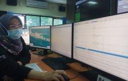 Pusat Gempa Regional (PGR) BMKG Wilayah III Denpasar mencatat anomali sinyal di wilayah Buleleleng, Bali, pada Minggu (24/1/2021) pukul 10.27.