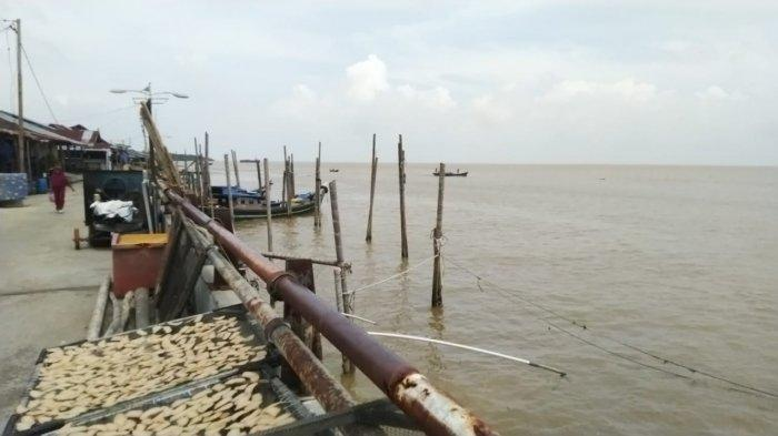 Cuaca Ekstrim Masih Berlanjut, Nelayan di Tanjung Jabung Timur Gantung Jaring