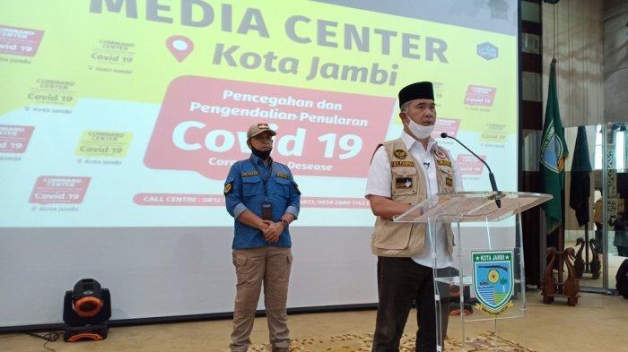 Pasien Positif Covid-19 Terus Bertambah, Wali Kota Jambi Ungkap Identitas Pasien 09