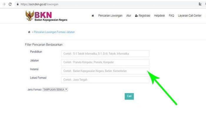 Pelamar Gagal Buka Situs SSCN Tempat Pendaftaran CPNS 2019, Ini Penjelasan BKN Soal Penyebabnya