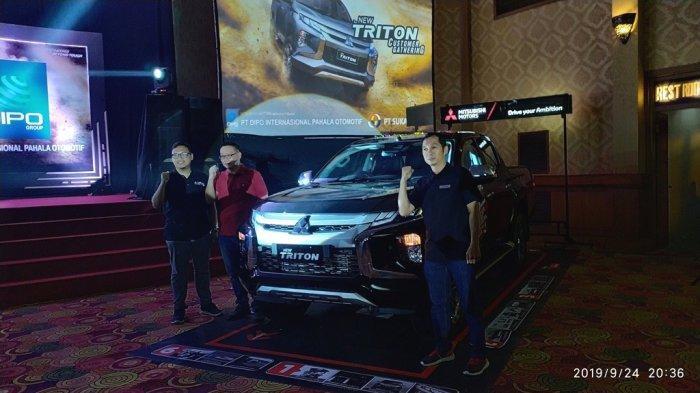 MMKSI Perkenalkan Mitsubishi New Triton di Kota Jambi