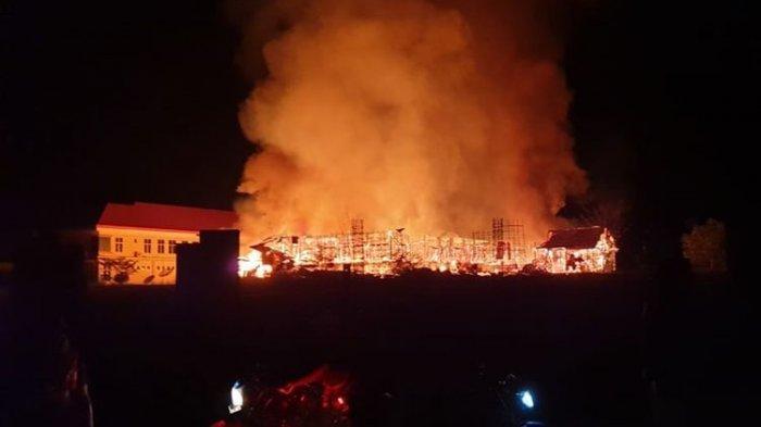 Kantor Pemerintah di Kabupaten Yalimo Papua Dibakar Selasa Malam
