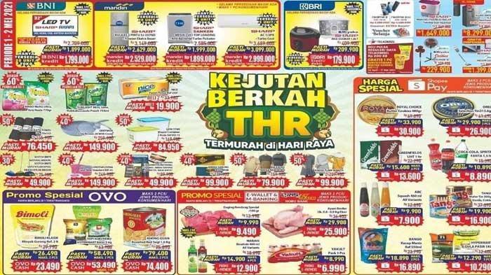 Promo Hypermart Hari Ini 2 Mei 2021 Kejutan Berkah THR Promo Spesial Minyak Goreng Beras Biskuit DLL