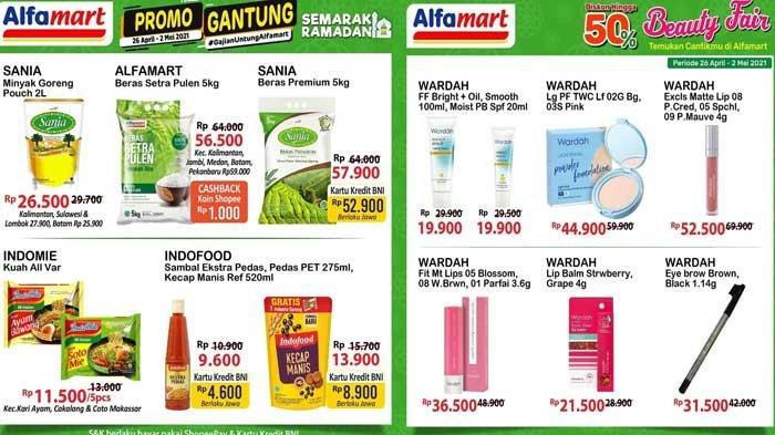 Promo Alfamart Hari Ini 2 Mei 2021 Potongan Rp15.000 Ngabuburit Promo Gantung DLL