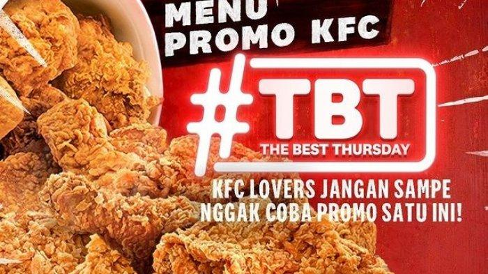 Promo KFC Hari Ini 26 Maret 2021 Ada KFC TBT The Best Thursday & Bucket Winger