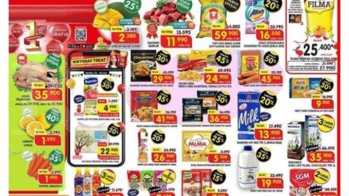 Promo Superindo Hari Ini 25 Juli 2021 Diskon Harga Minyak Goreng Beras Detergen Daging Susu
