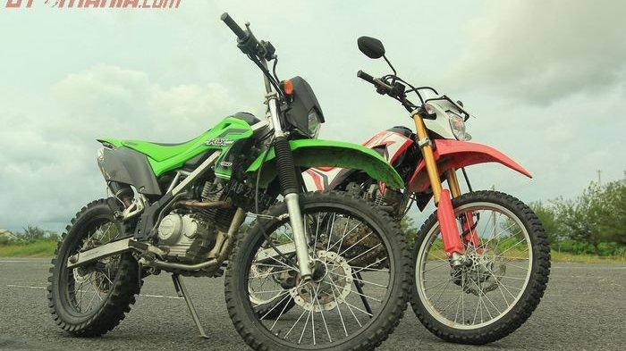 Harga Motor Trail Bekas - Kawasaki KLX Mulai Rp 15 Jutaan, Honda CRF, Yamaha WR150
