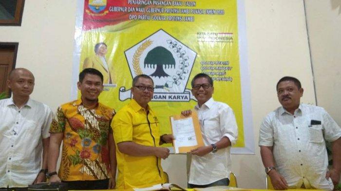 Cek Endra Kuasakan Pengambilan Formulir Calon Ketua di Musda Golkar