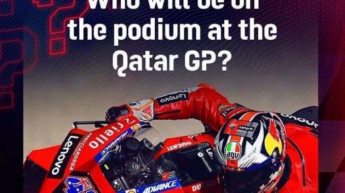 Link Live Streaming FP1 dan FP2 MotoGP Qatar 2021 di Fox Sport 2