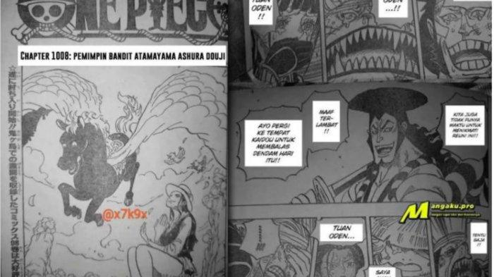 One Piece Chapter 1008 Bandit Gunung - Ashura Doji Tebas Oden, Supernova vs Yongko Kaido dan Big Mom