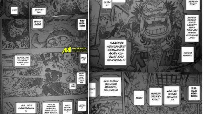 Manga One Piece chapter 1008