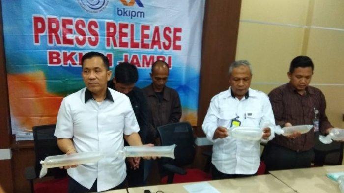 POLDA dan BKIPM Jambi Gagalkan Upaya Penyelundupan Baby Lobster Bernilai Rp 23 Miliar Lebih