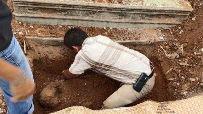 Pengakuan Pelaku Bius Korban dengan Obat Tetes Mata, Bunuh & Cor Mayat di Kuburan, Berawal Hutang
