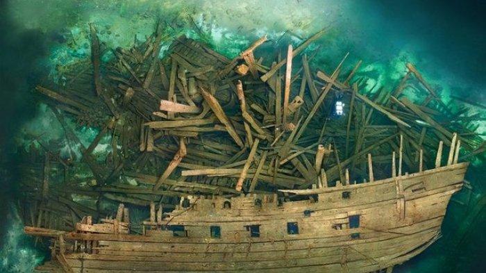 Terungkap, Harta Karun Kapal Perang Terkutuk yang Mengejutkan