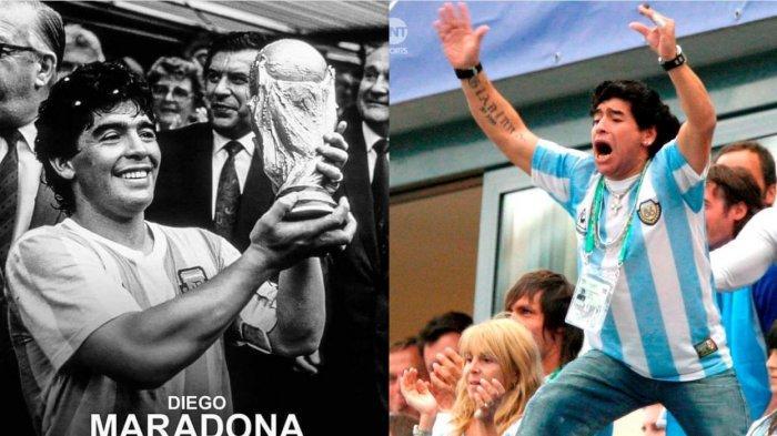 Rekam Jejak Diego Maradona, Legenda Sepak Bola Asal Argentina yang Dijuluki Si Tangan Tuhan