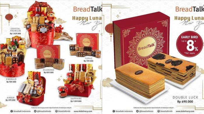 Promo BreadTalk Terbaru 26 Januari 2021, Parcel Eksklusif dan Kue Istimewa Sambut Tahun Baru Imlek
