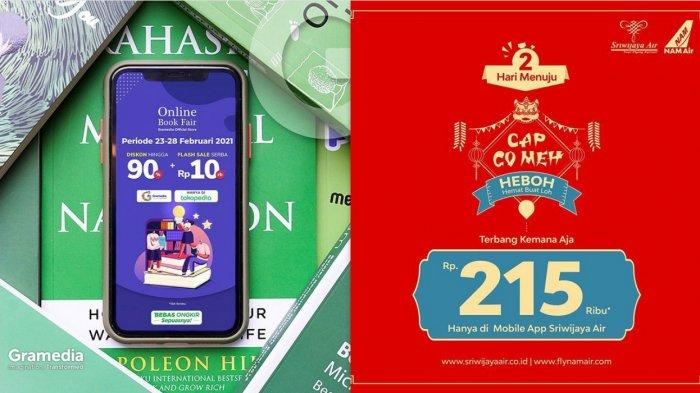 Perayaan Cap Go Meh 2021 Diskon Menarik yang Wajib Dicoba, Diskon Buku hingga Tiket Pesawat