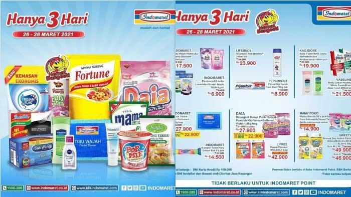Promo Indomaret Hari Ini dan Besok 29 Maret 2021 Diskon Minyak Goreng 2L Rp21.500 Harga Hemat Susu