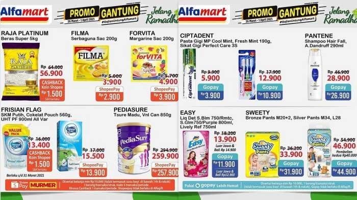 Promo Alfamart Hari Ini 26 Maret 2021 Jelang Ramadhan 2021 Promo Beras Margarin Gula Susu Diapers