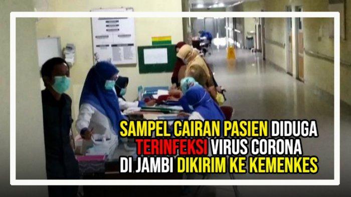 Pejabat Kemenkes Ke Jambi, Adanya Dugaan Pasien di RSUD Raden Mattaher Terinfeksi Virus Corona