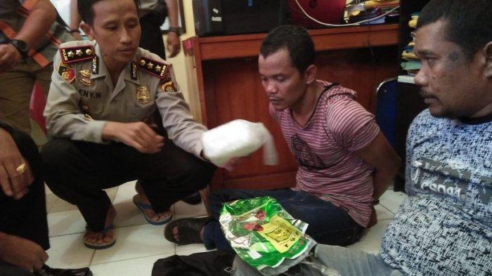 Gembong Narkoba Asal Pekanbaru Tertangkap, Dibekuk Saat Transaksi Sabu 1 Kg di Sarolangun