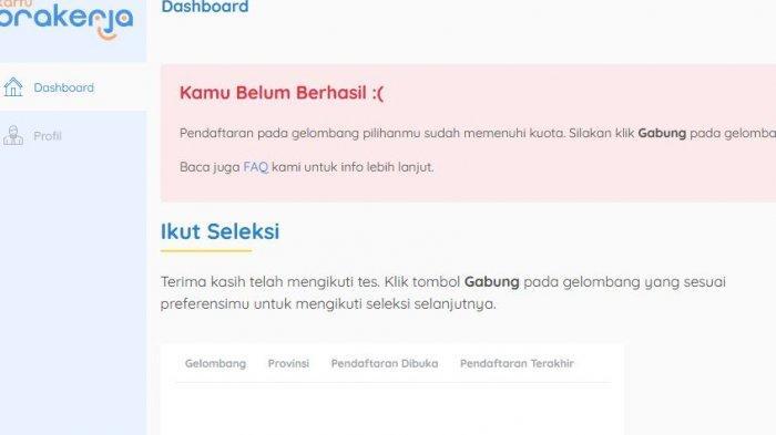 Kartu Prakerja Gelombang 13 Dibuka Pekan Depan, Buat Akun Dulu di www.prakerja.go.id