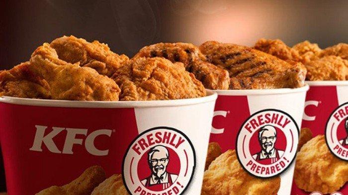 Kabar Gembira - Paket Super Besar KFC, Nasi, Ayam dan Coca-cola Rp 20 Ribu, Begini Cara Dapatnya!