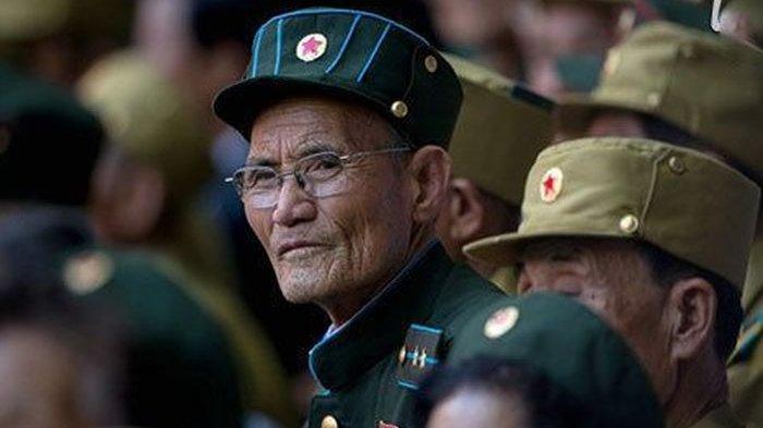 Ilustrasi-veteran Perang Korea.