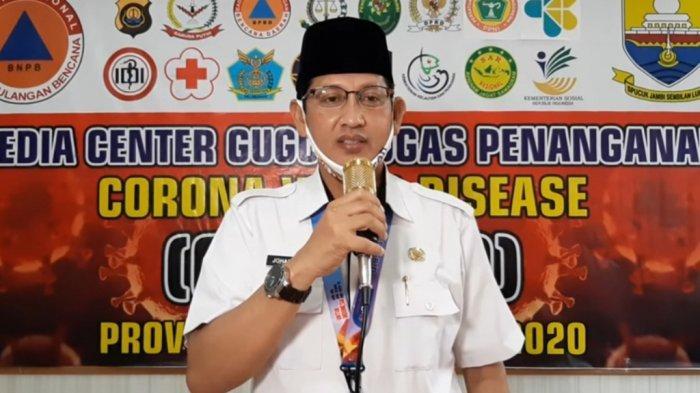 UPDATE Virus Corona Provinsi Jambi 20 Juni 2020 Tambah Lagi, 1 Muarojambi dan 2 Sungai Penuh