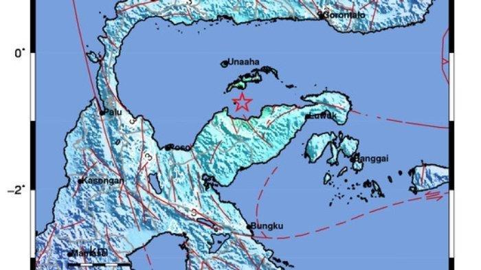 36 Gempa Susulan di Sulawesi Tengah hingga Selasa (27/7) Pagi