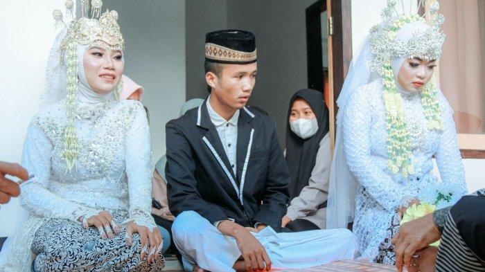 Pria 20 Tahun di Lombok Tengah Nikahi 2 Kekasihnya Bersamaan, Tak Tahu Jika Dimadu