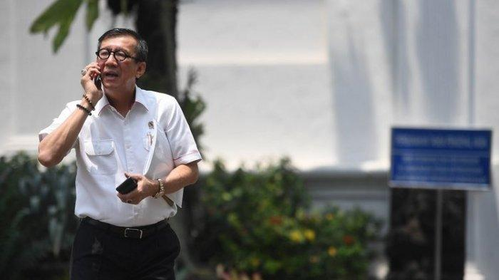Menteri Hukum dan HAM Mengundurkan Diri, Istana Membenarkan, Ini Alasan Keluar dari Kabinet Kerja